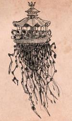 Steampunk Jellyfish study