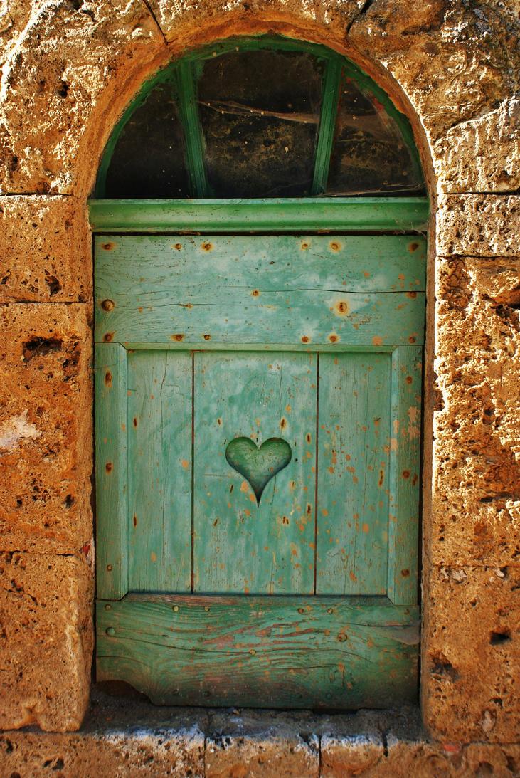 Poklanjam ti sliku Coeur_vert_by_libellule64wazka-d2yrbgi