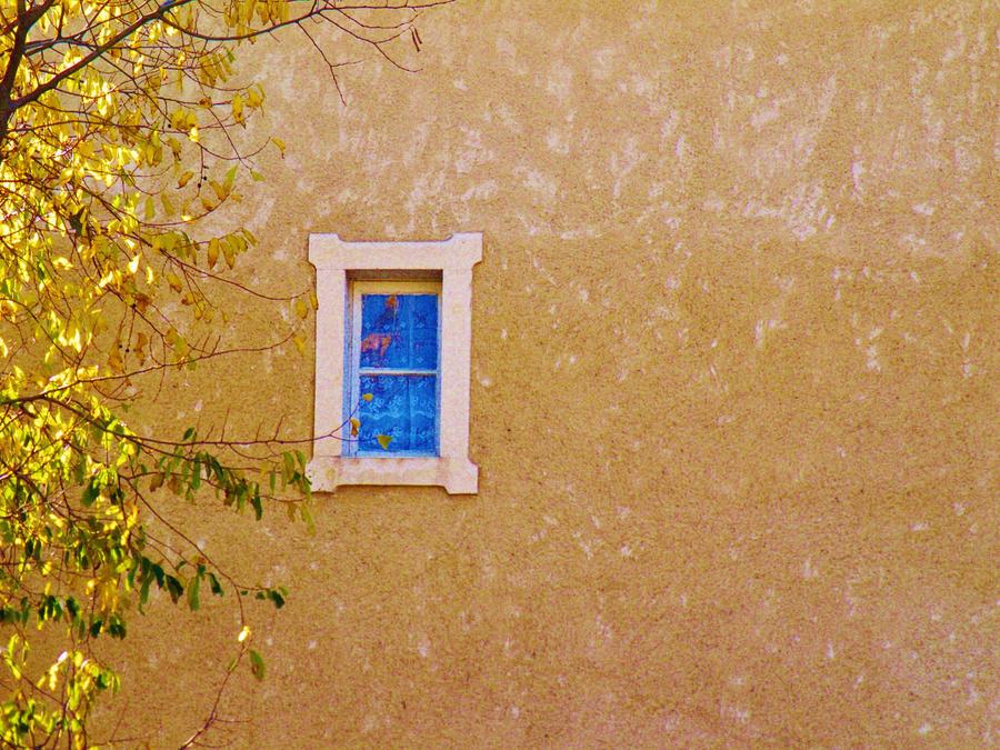 Une petite fenetre bleu by libellule64wazka on deviantart for Petite fenetre