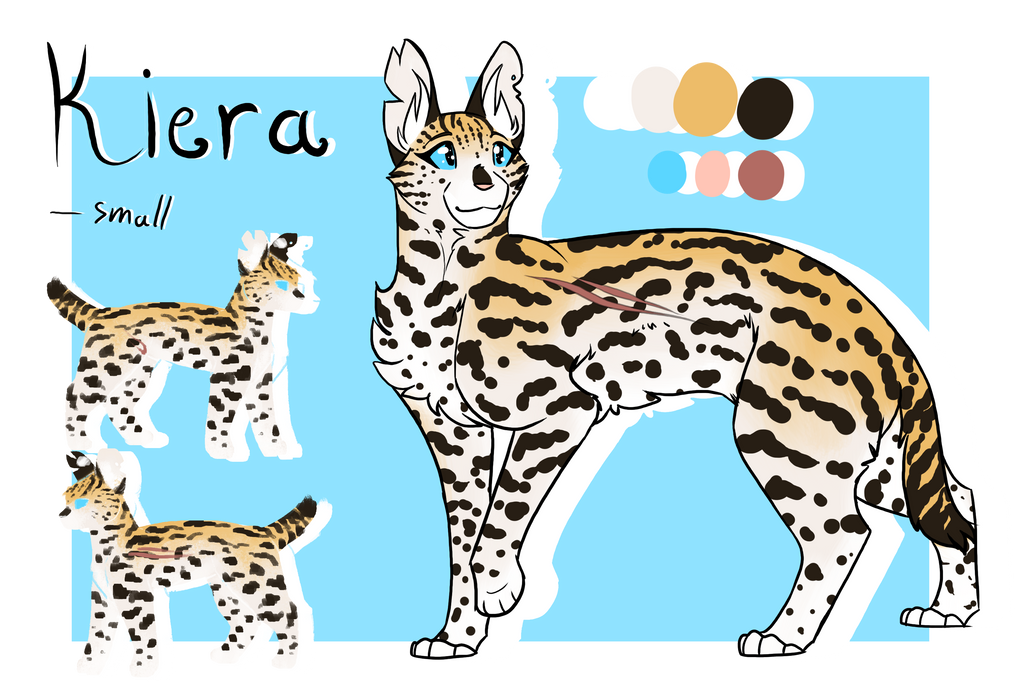 Kiera ref - Light and Blood by CreativeCheetah