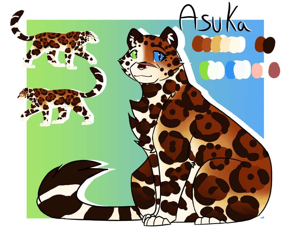 Asuka ref - Light and Blood by CreativeCheetah