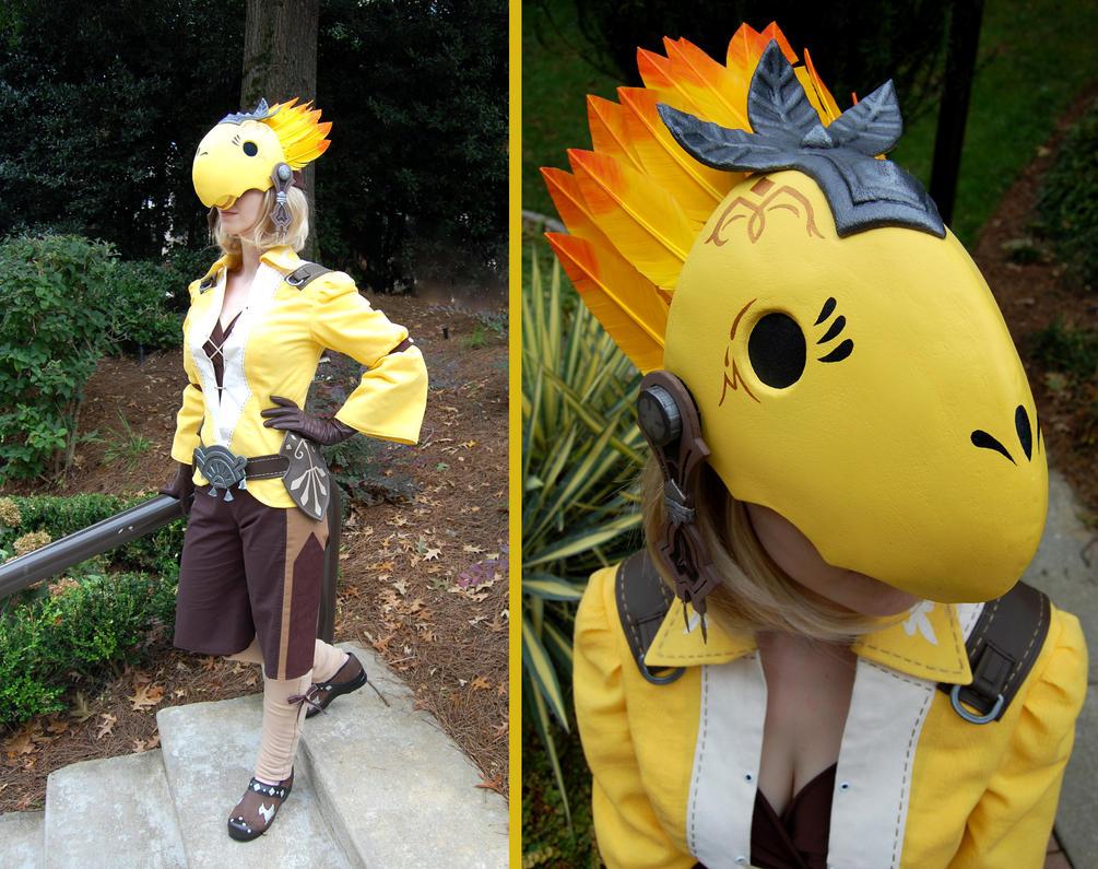 The Chief Chocobo Enthusiast by Yashuntafun