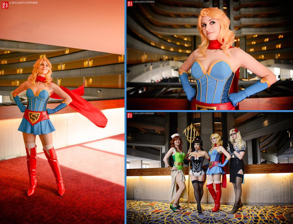 Bombshell Supergirl by Yashuntafun