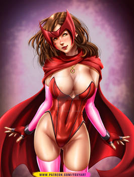 Scarlet Witch Fan Art
