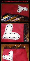 Pencilcase Commission 1 by m.. by RedClub