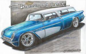 '54 CorvetteNomad by HorcikDesigns