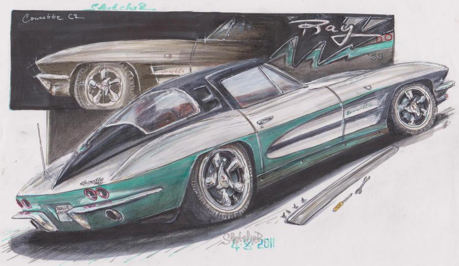 StingRAY '63 by HorcikDesigns