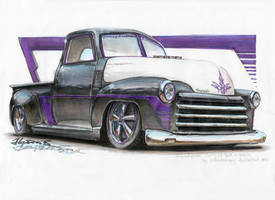 Chevy 3100 by HorcikDesigns