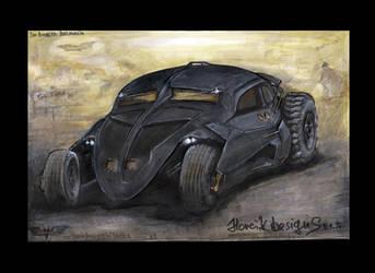 The Bugbler Batmobile (volksrod) by HorcikDesigns