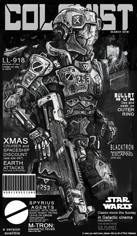 COLONIST magazine cover