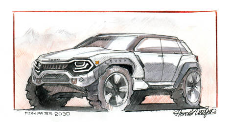Jeep Concept by HorcikDesigns