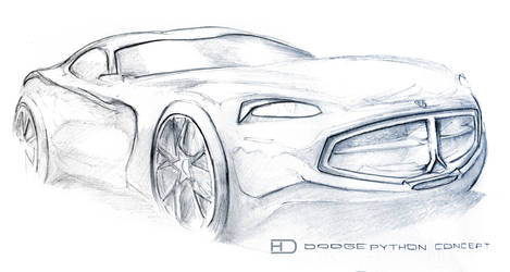 Dodge Python concept by HorcikDesigns