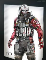 Akateko armor