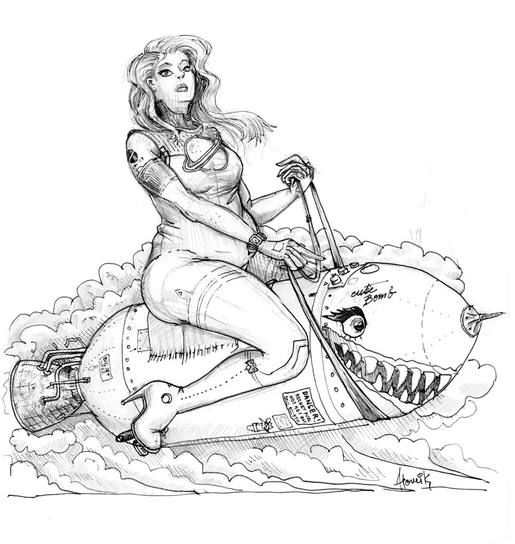 Bomb-ride