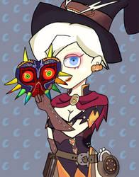 Witch Mercy w/ Majora's Mask