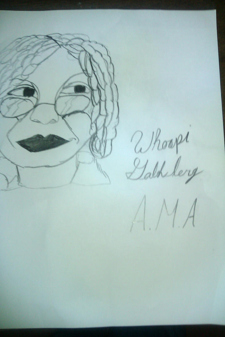 Whoopi Goldberg by ThaDeviousHyena93