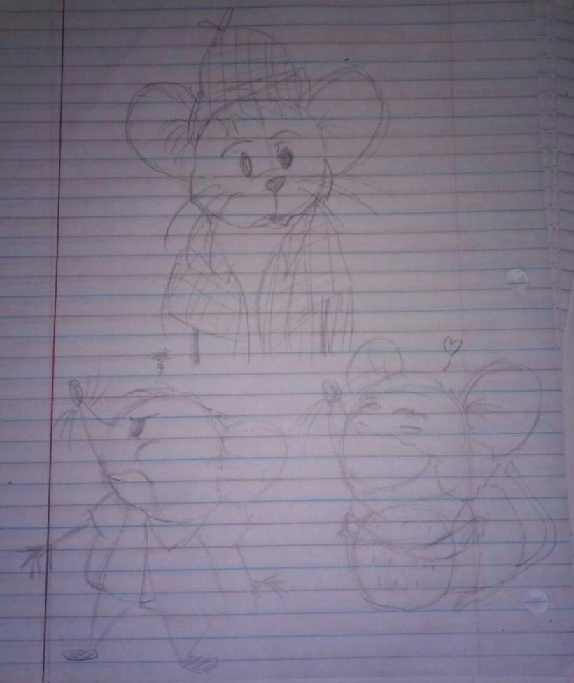 Roquefort Doodles  by ThaDeviousHyena93