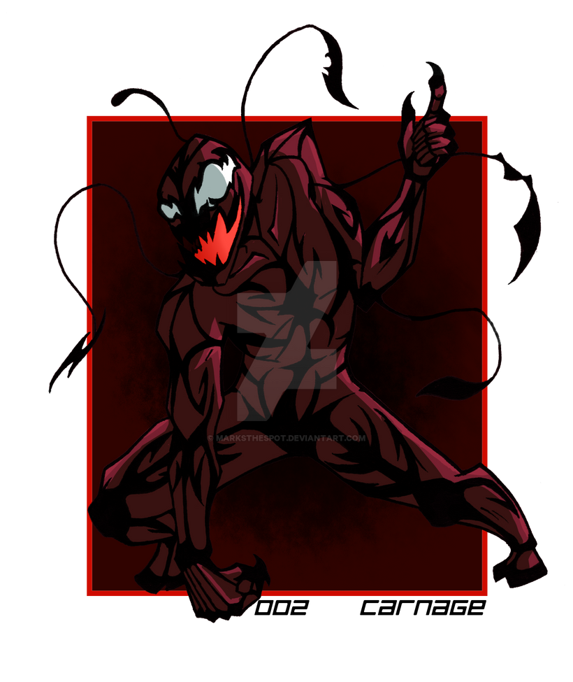 002 Carnage by MarksTheSpot