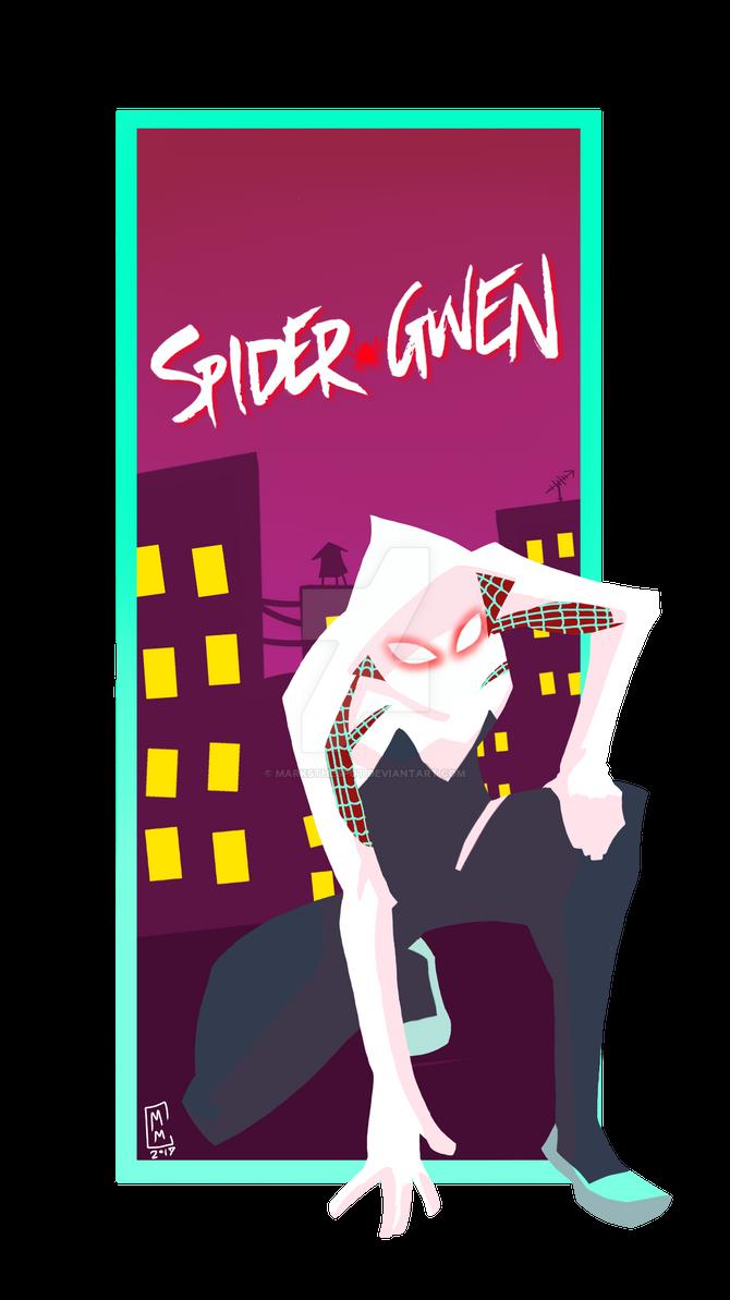 Spider-Gwen by MarksTheSpot