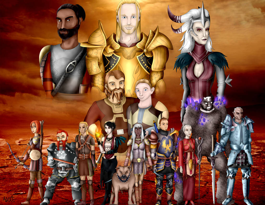 Dragon Age : Origins - Group