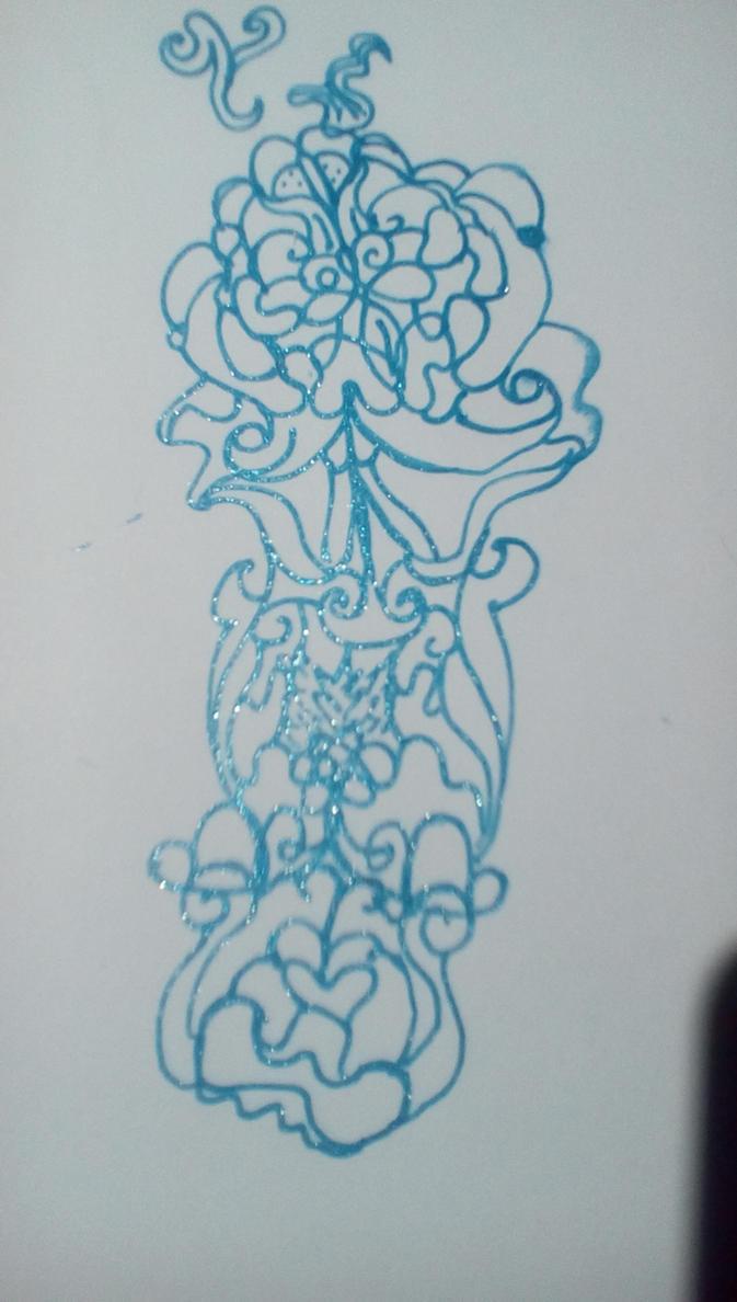 Random doodle. by ValleyHummingbird