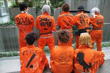 KHR: Orange Jumpsuits by xzackyvx