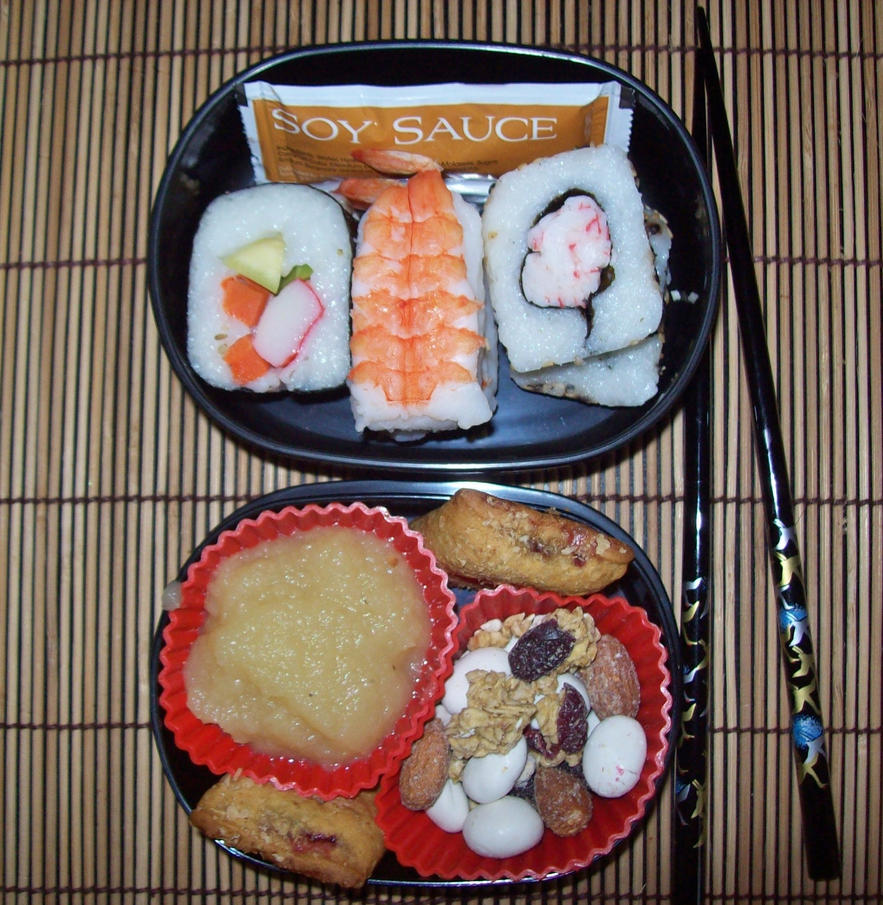 Sushi Bento by Scarletts-Fever