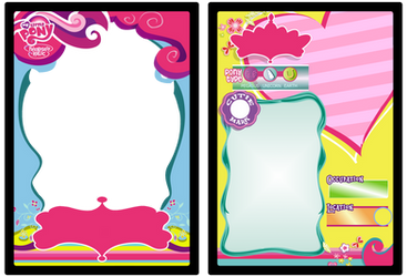 MLP:FiM Trading Card Base by Scarletts-Fever