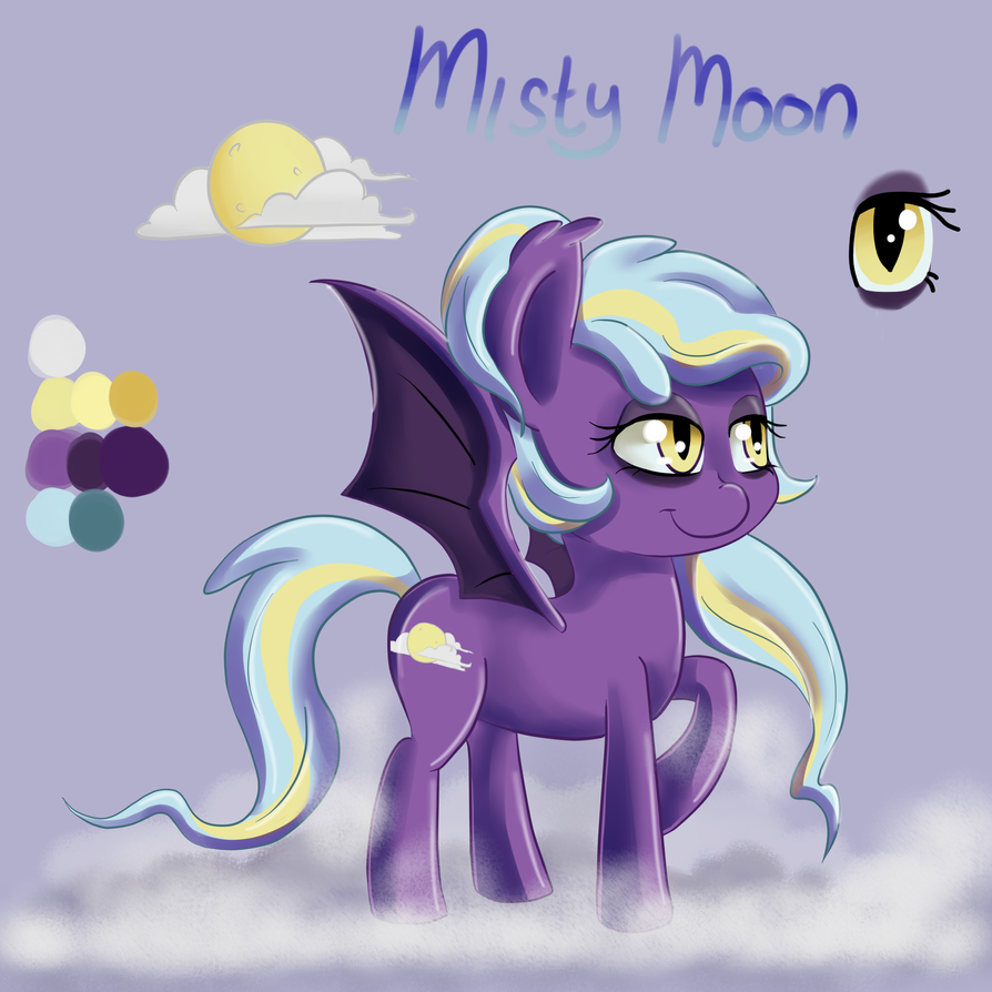Misty Moon by ScarleyKwinn