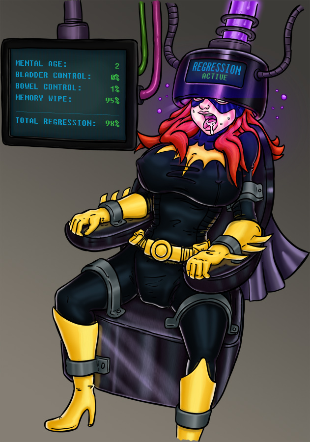 BatGirl's Regression part1 by Jamjarmonster/WishBe by megabluex