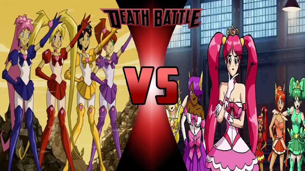 Ultra Cadets vs Ashigahari Princesses by megabluex