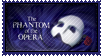 The Phantom of the Opera (musical) stamp by Stuflox