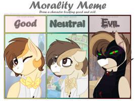 Morality meme - ft. Drawin by Stuflox