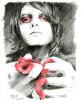 Gerard Way [Black and red, just like him]