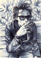 Gerard Way, smoke free by lilhydra