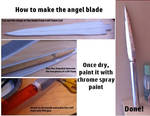 How To Make The Angel Blade from 'Supernatural'