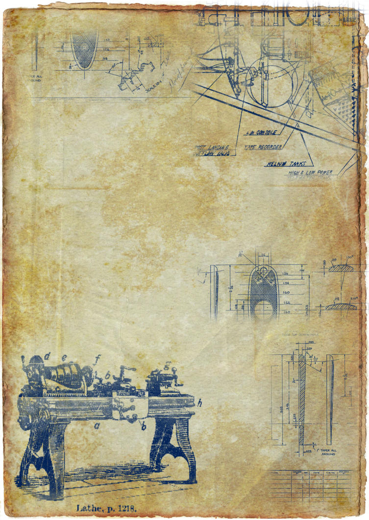 Old blueprint by scgrant on deviantart old blueprint by scgrant malvernweather Images