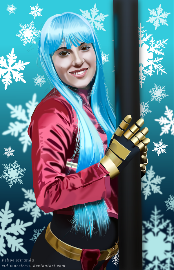 Cosplay of Kula Diamond by Cid-Moreira12