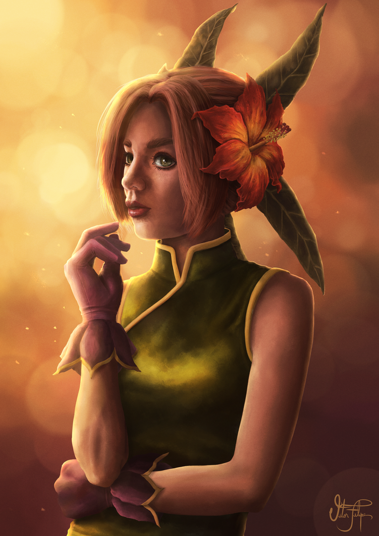 Sandra (Legend of Mana Collab) by Cid-Moreira12