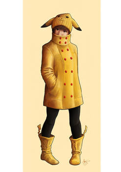 Pikachu Gijinka