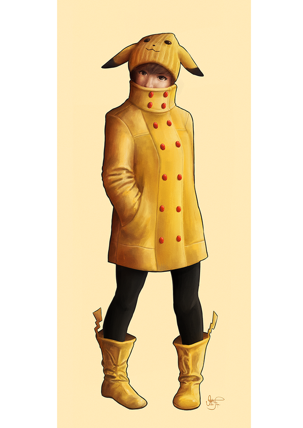 Pikachu Gijinka by Cid-Moreira12