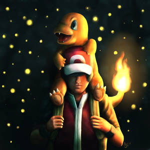 Red and Charmander