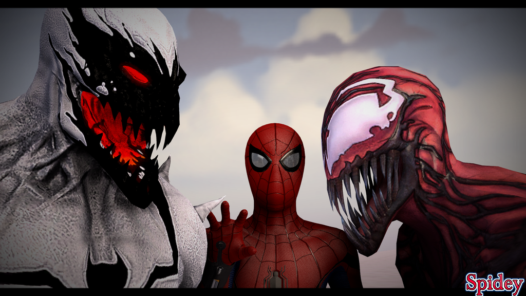Anti-Venom VS Carnage by SpideyAlex007 on DeviantArt