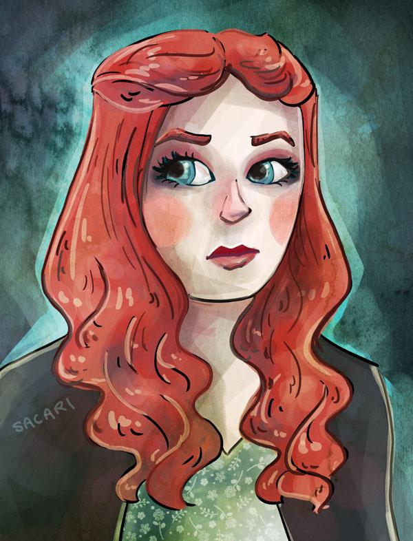 Sansa Stark by Sacari