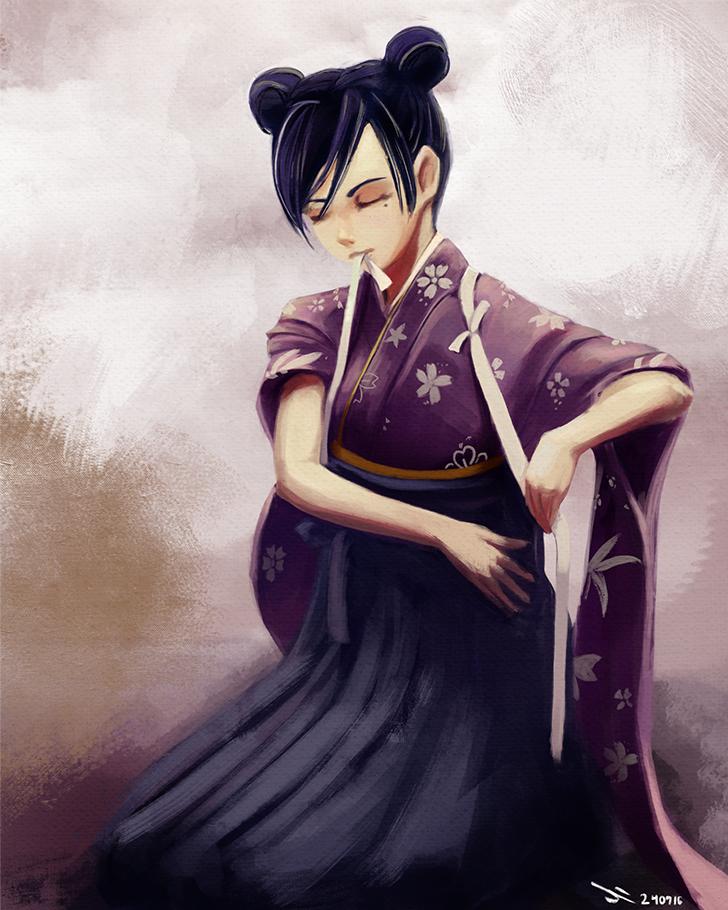 Wakamiya Shinobu By Ili104 On Deviantart