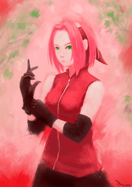 Sakura Haruno by ili104