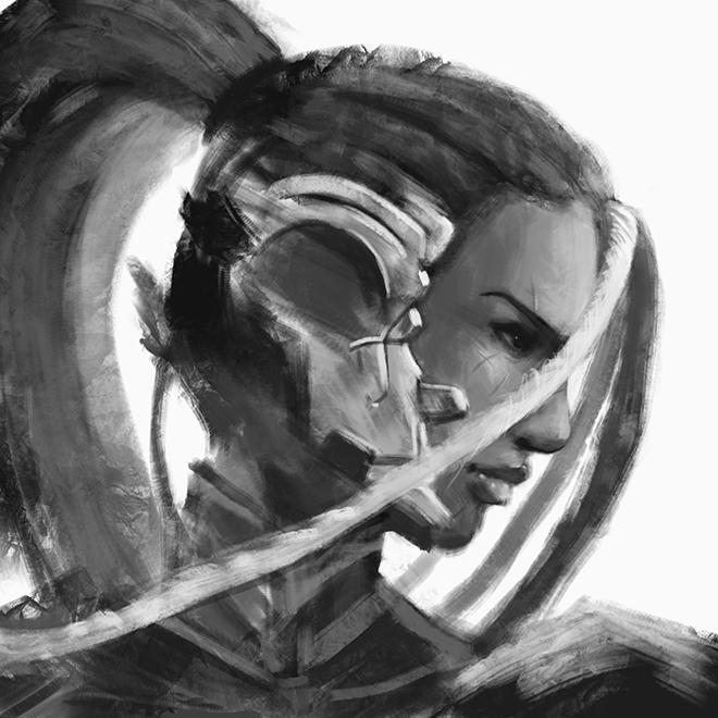 Master Raven sketch by ili104