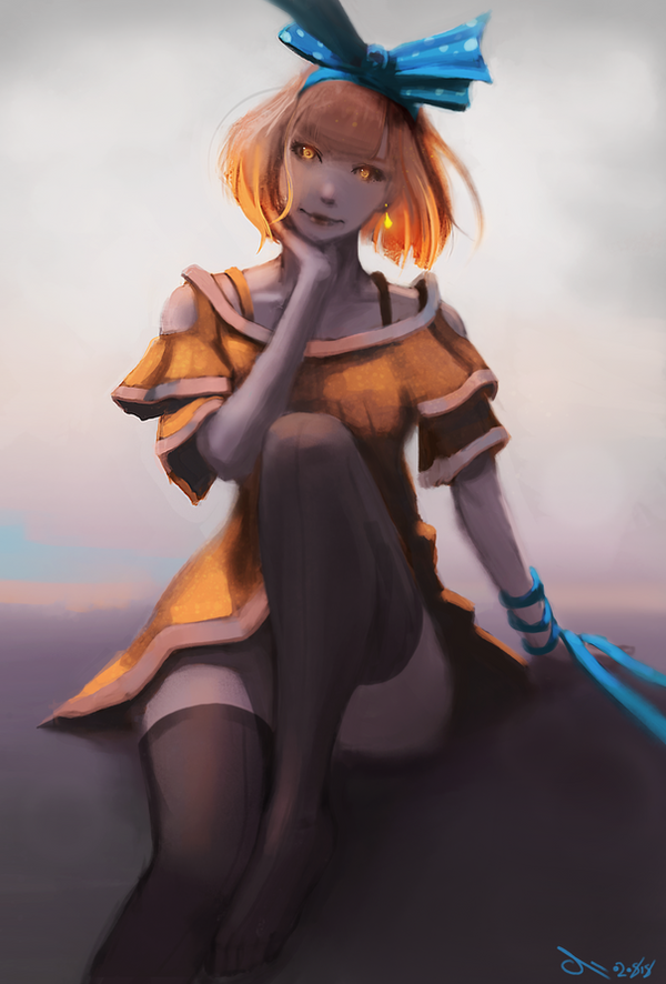 Blue ribbon by ili104