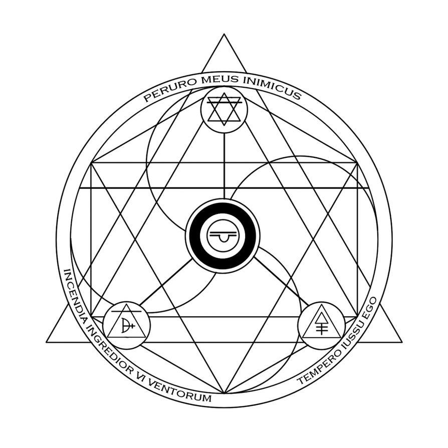 Fire Storm Alchemist Array 2 By Vash Crowley On Deviantart