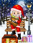 pixel-santa s christmas by ReZieDue